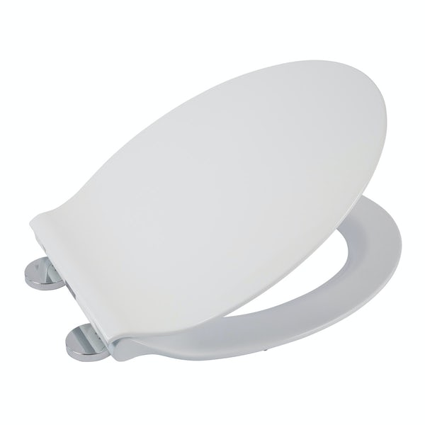 Croydex Michigan slimline flexi fix toilet seat