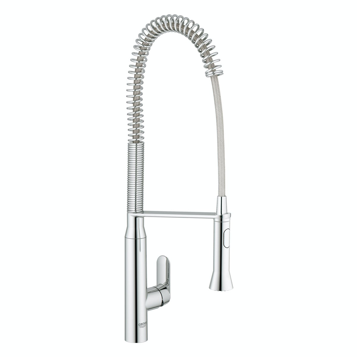 Grohe K7 Profi-spray kitchen tap with pull down spout