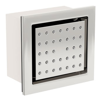 Spa square shower body jet