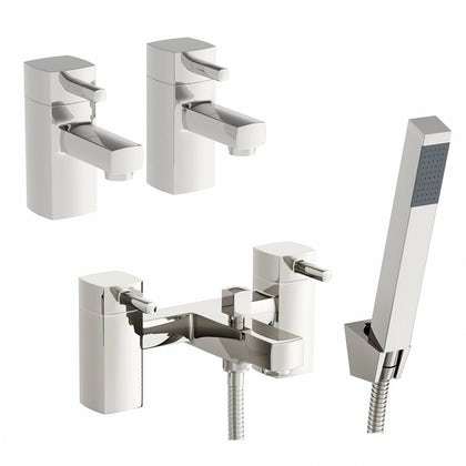 Derwent Basin Tap and Bath Shower Mixer Pack