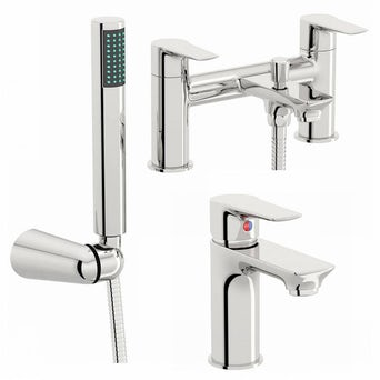 Windermere Basin and Bath Shower Mixer Pack