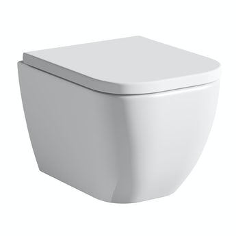 Mode Ellis wall hung toilet with soft close seat