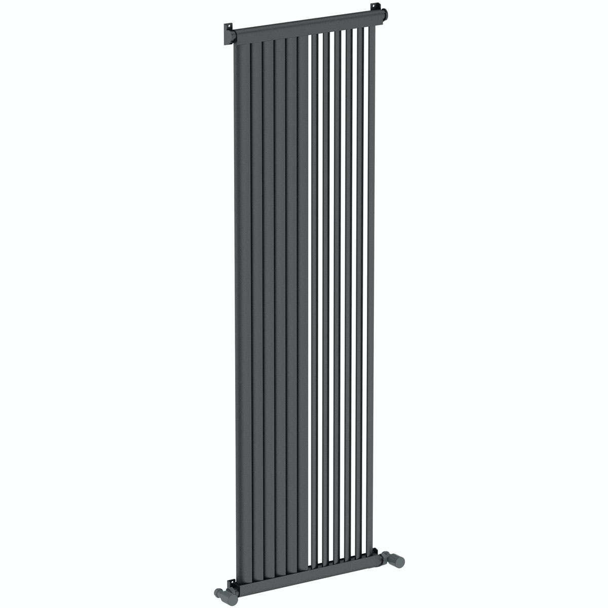 Mode Zephyra anthracite vertical radiator 1500 x 468