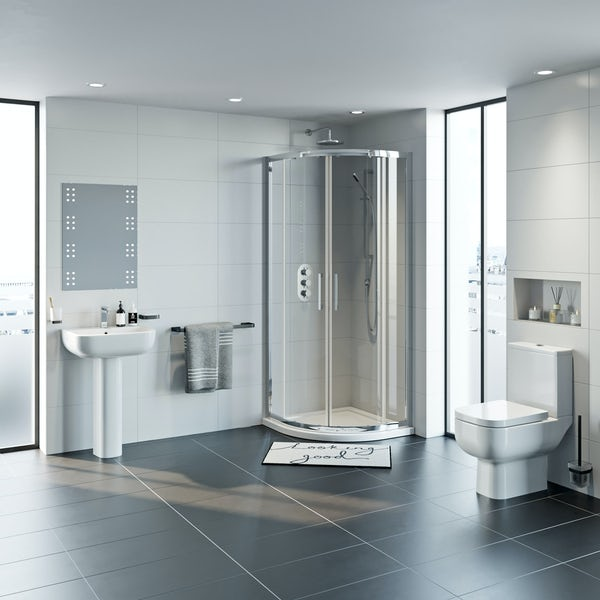 RAK Series 600 and Mode complete shower enclosure suite