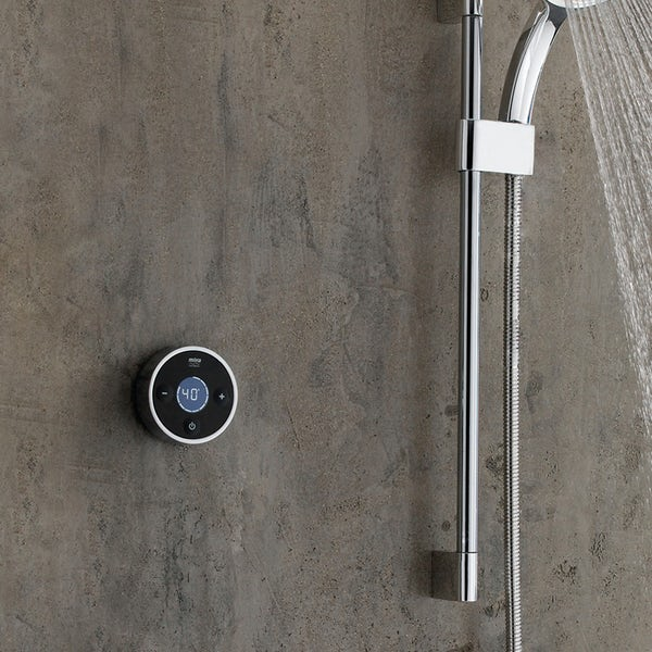 Mira Platinum digital shower valve and controller pumped