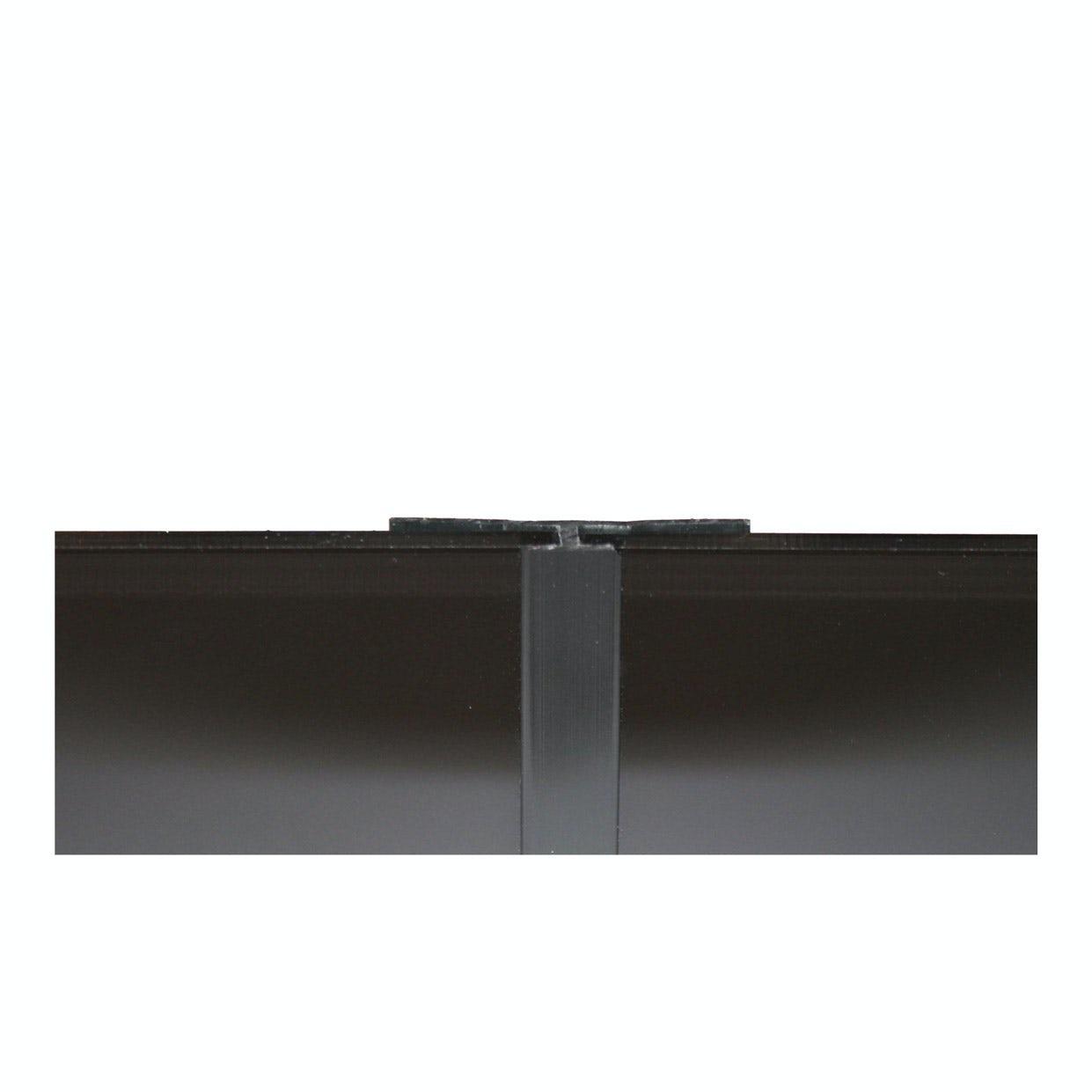 Zenolite plus matt jet colour matched straight joint 250mm