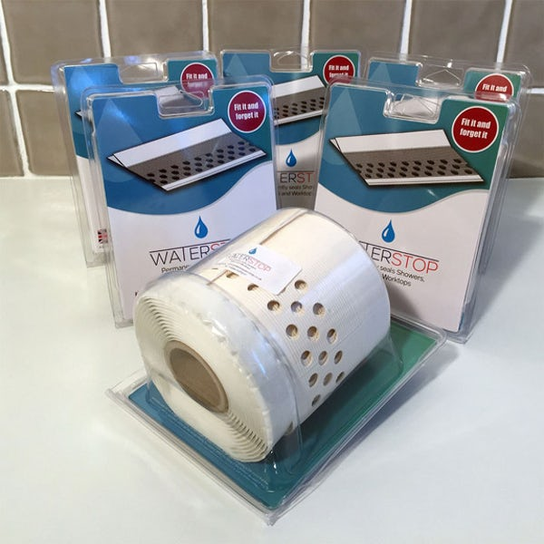 Waterstop bath and shower tray sealant strip