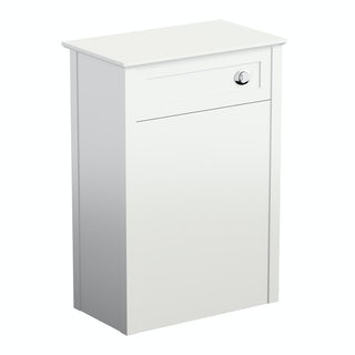 Camberley white back to wall toilet unit