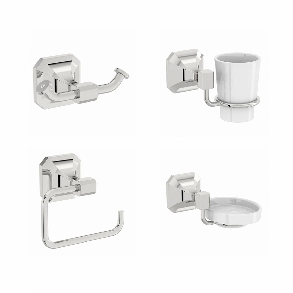 The Bath Co. Camberley ensuite accessory set
