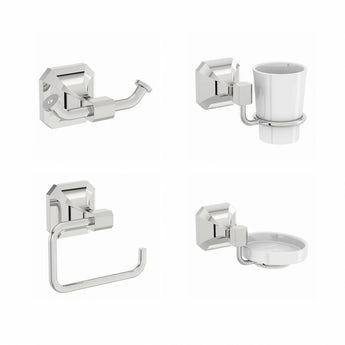 Camberley ensuite accessory set