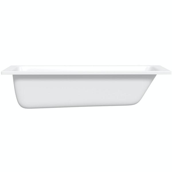 Kaldewei Puro straight steel bath 1700 x 700 with no tap holes