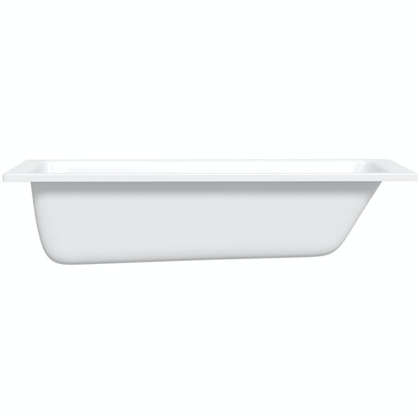 Kaldewei Puro straight steel bath 1700 x 700 with no tap holes