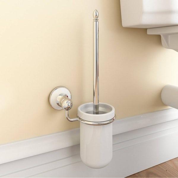 Winchester Toilet Brush & Ceramic Holder