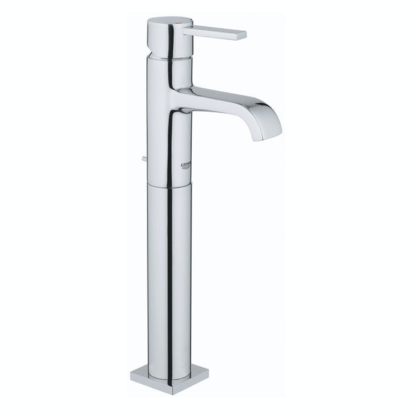Grohe Allure XL-size basin mixer tap with pop up waste