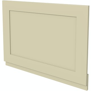 No imageThe Bath Co. Camberley satin ivory bath end panel 700mm