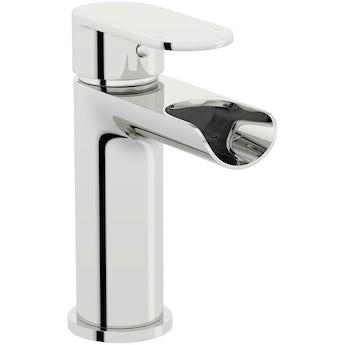 Orchard Eden waterfall basin mixer tap