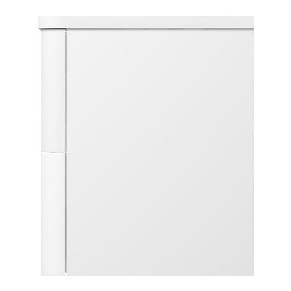 Mode Ellis essen wall hung vanity drawer unit and countertop 800mm