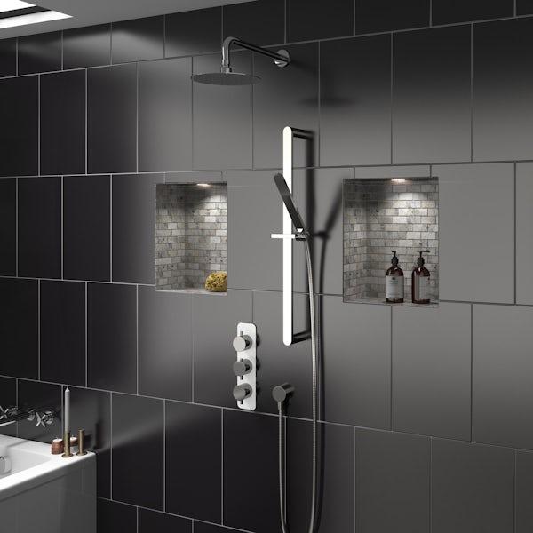 Mode Austin triple shower valve with diverter offer pack