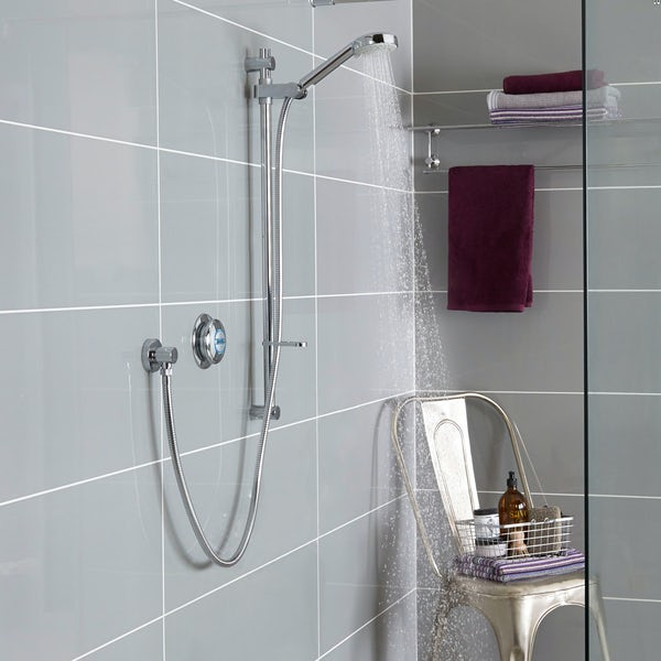Aqualisa quartz concealed digital shower standard