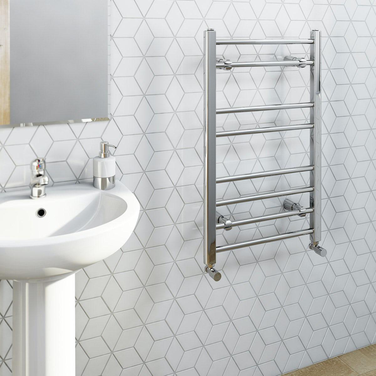 Eco Heated Towel Rail 800 X 500