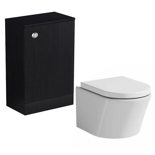 Wye essen back to wall toilet unit with Mode Arte toilet