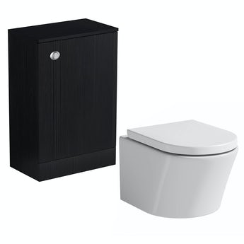Arden essen back to wall toilet unit and Arte toilet with seat
