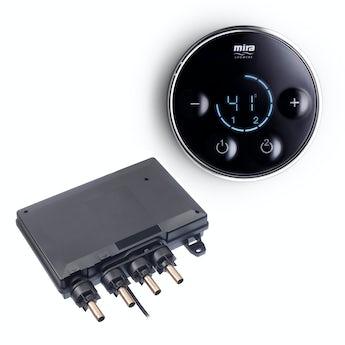 Mira Platinum dual digital shower valve and controller standard