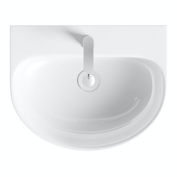 Harrison full pedestal basin 555mm