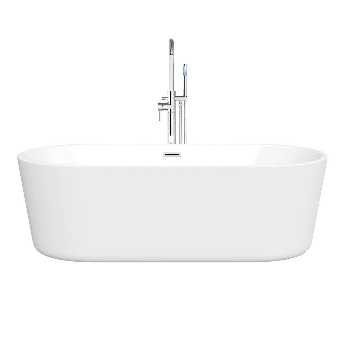 Mode tate freestanding bath 1780 x 800 for Small baths 1500