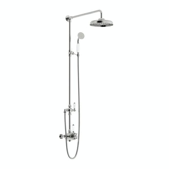 The Bath Co. Dulwich rain can shower head riser shower system