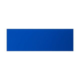 cut out of glass cobalt blue rectangular tile