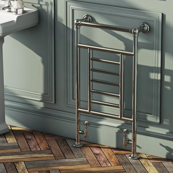 Buckingham Heated Towel Rail 914 x 535