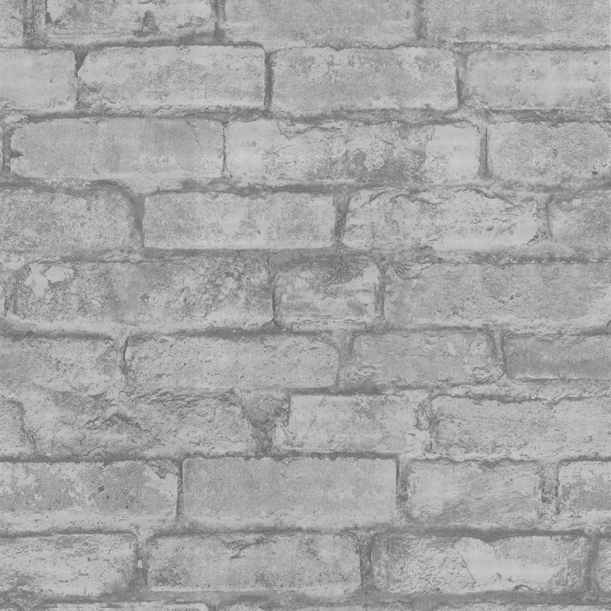 Rustic Brick Sidewall - Cream