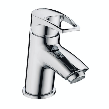 Bristan Smile basin mixer tap with waste