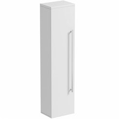 Odessa white wall hung storage cabinet