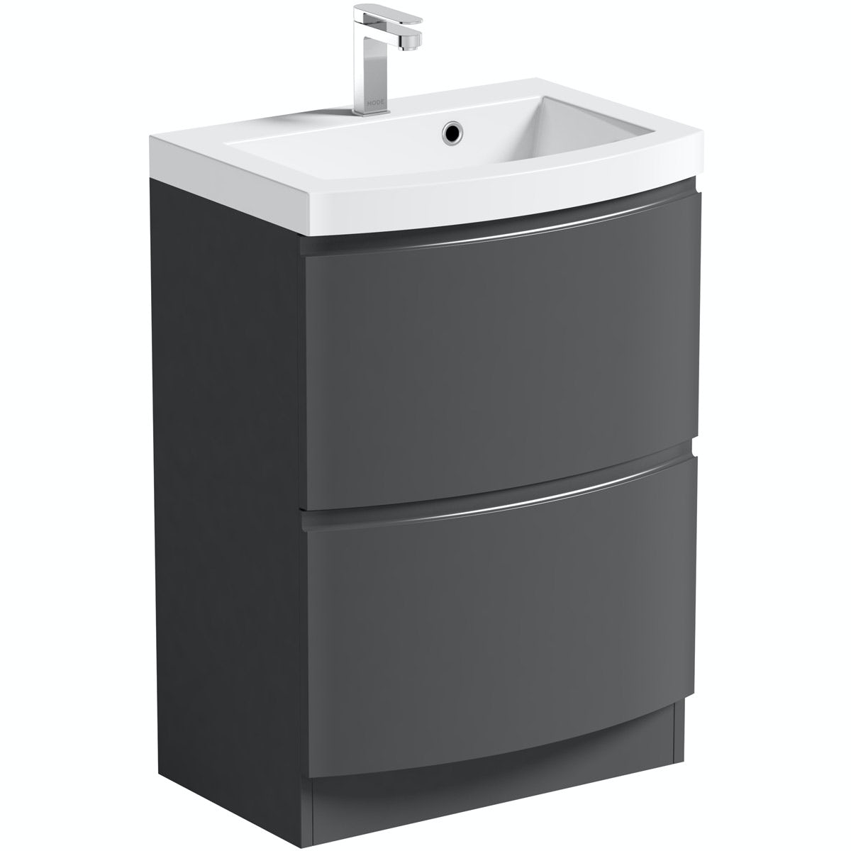 Harrison Slate 600 Floor Drawer Unit & Basin
