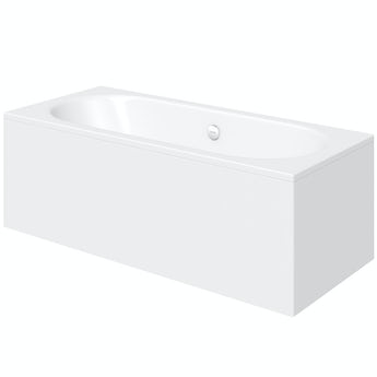 Kaldewei Classic Duo straight steel bath 1700 x 750 with no tap holes