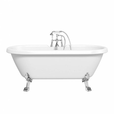 Shakespeare Roll Top Bath Small with Dragon Feet
