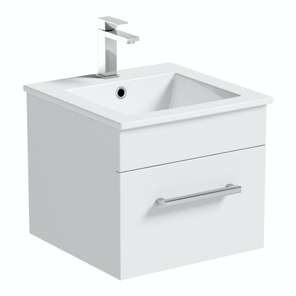 Wall Hung Vanity Units | Wall Mounted Vanity Units | VictoriaPlum.com