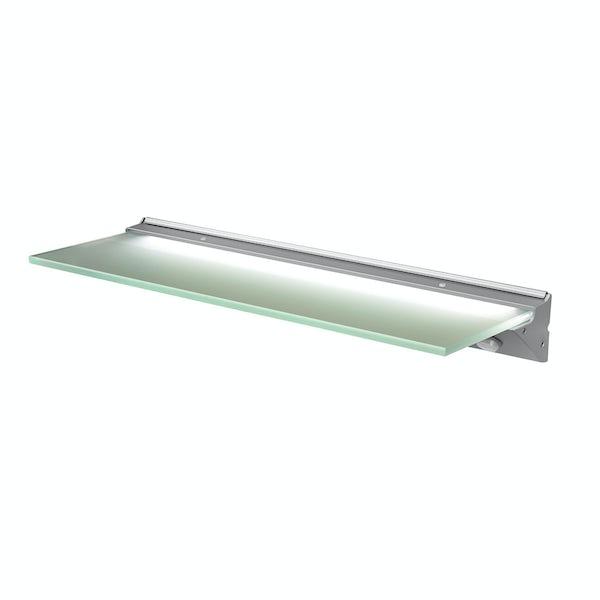 LED glass shelf light 135mm