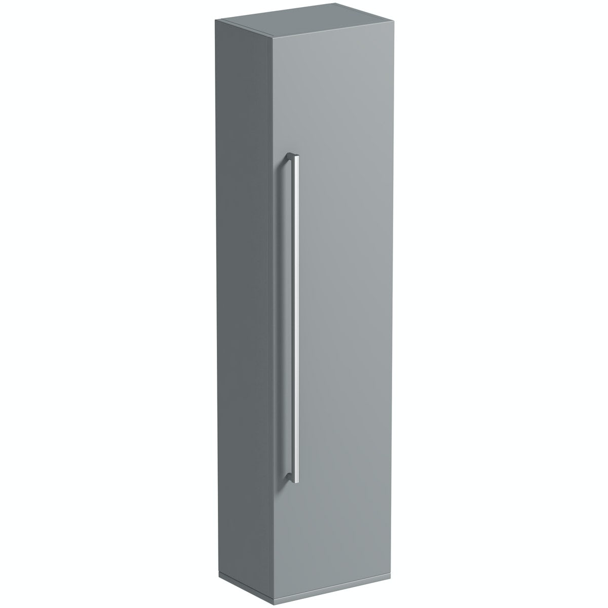 Orchard Derwent Grey Tall Storage Cabinet