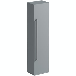 orchard derwent grey tall storage cabinet new orchard bathrooms logo