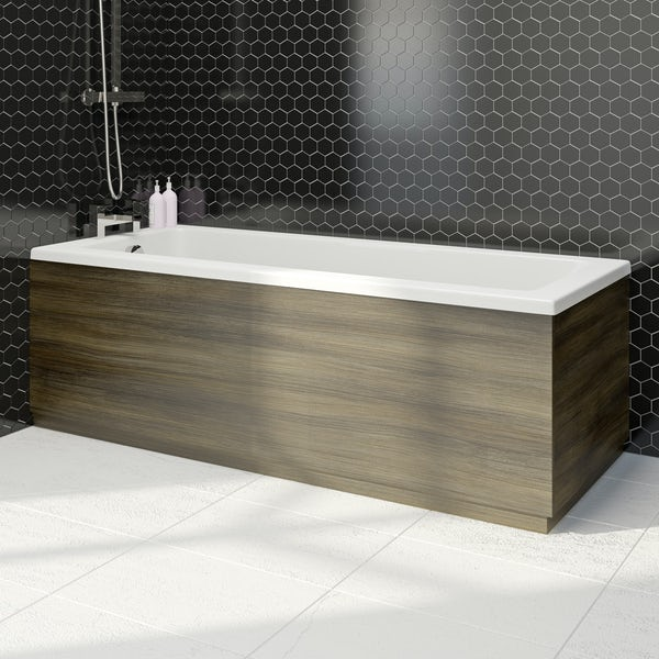 Wye walnut 1700 bath front panel