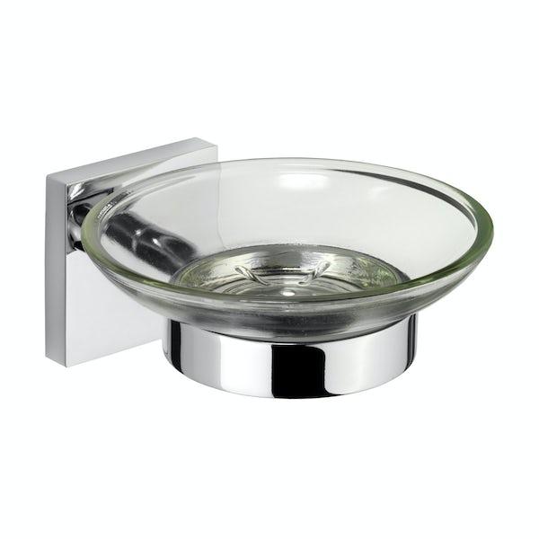 Croydex Chester soap dish & holder
