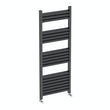 Carter anthracite heated towel rail 1200 x 500
