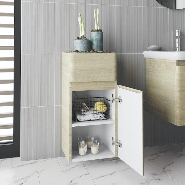 Mode Heath oak side cabinet