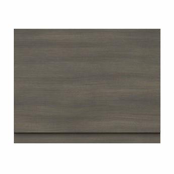 Drift walnut wooden bath end panel 800mm