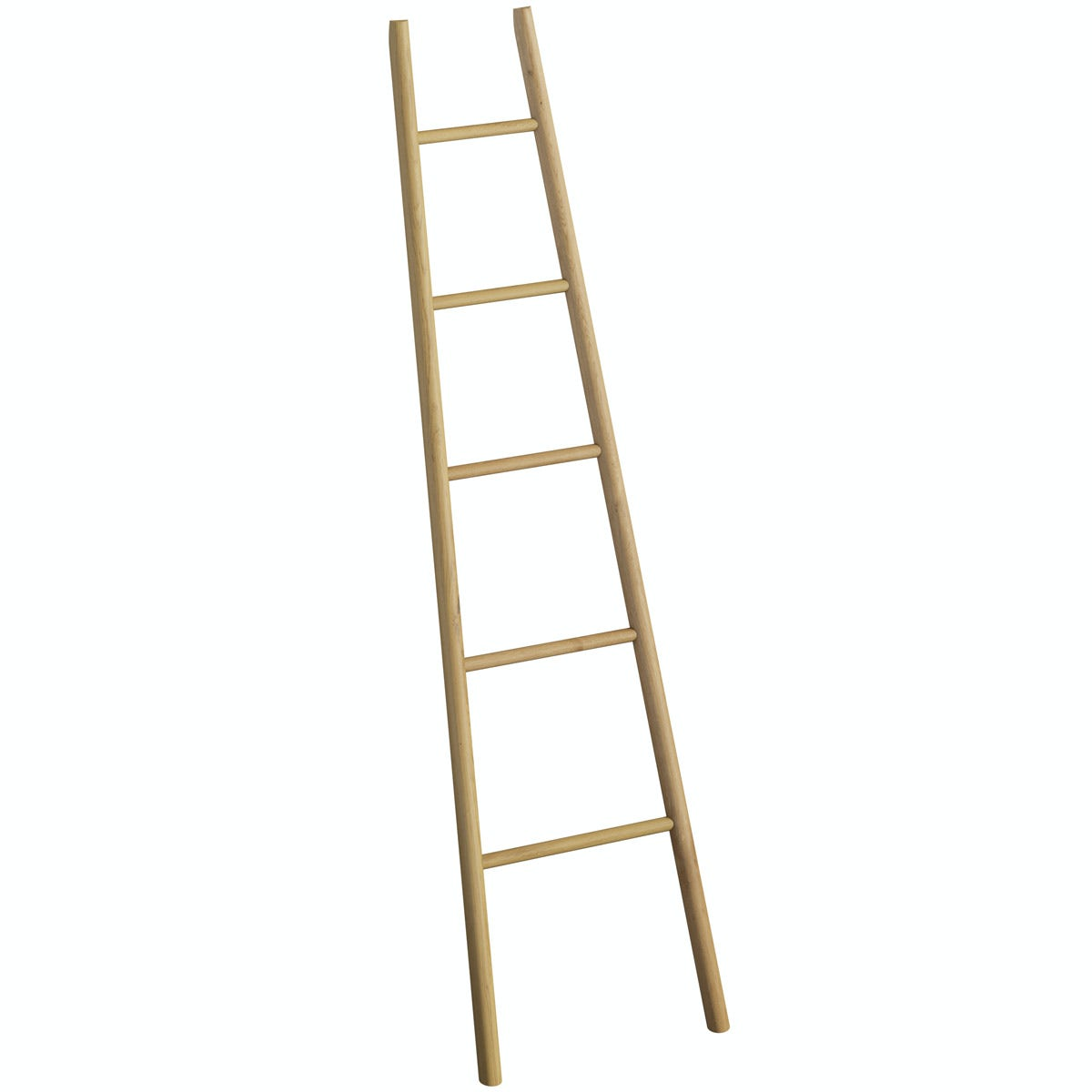 Mode South Bank natural wood towel ladder