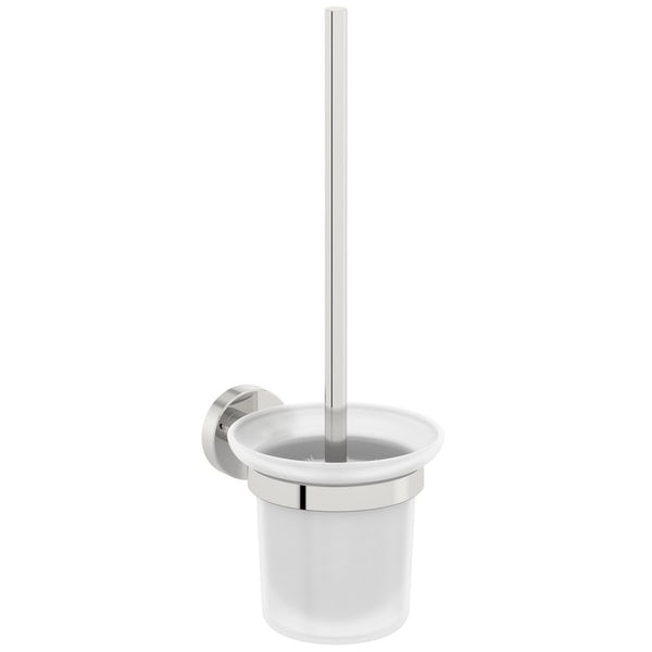 Orchard Eden round cloak room toilet accessory set