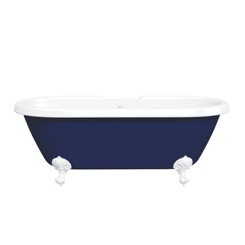 The Bath Co. Dulwich Navy blue coloured bath